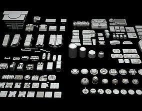 3D Ship Parts Pack