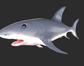 3D asset rigged Shark