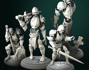 3D print model Skeletons bundle 32mm pre-supported