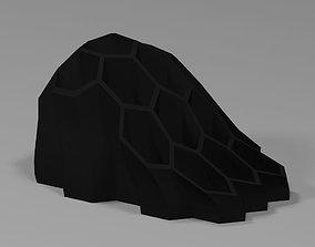 Hexagon Organic Pen Holder 3D printable model