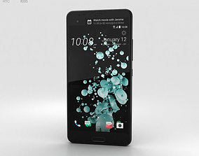 HTC U Ultra Brilliant Black 3D model