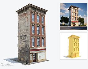 Apartment House 136 3D asset