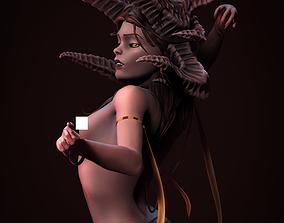 demon Succubus Statue - 3D printing