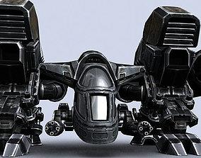 game-ready 3DRT - Sci-Fi - Dropship 3