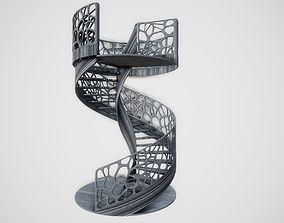 Modern Spiral Staircase 3D