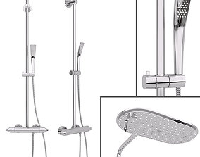 3D Shower System Grohe Rainshower System Veris 300