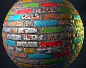 Brick texture 05 3D