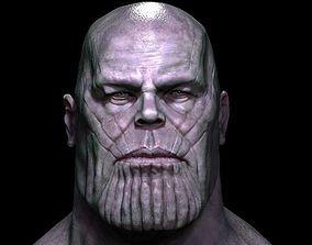 thanos 3D model head