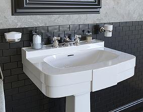3D model Washbasin DevonDevon BOGART