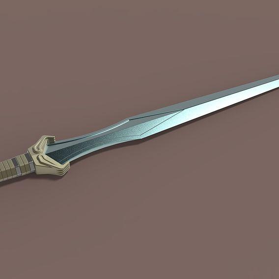 Sword of Valkyrie from Thor Ragnarok