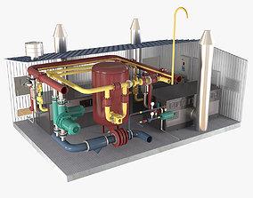 3D Boiler Room