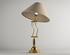 Old Table Lamp 3D living