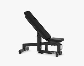3D Technogym Pure Adjustable Bench