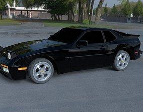 Porsche 944 Turbo HDRI 3D model