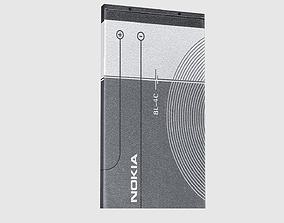 3D model Nokia Battery