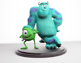 Mike and Sully From Monster inc printable
