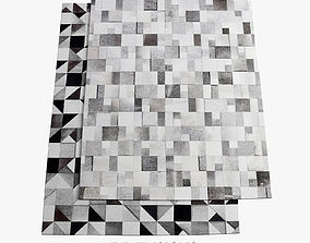 Brilliant and Gallery Rugs 194 3D model