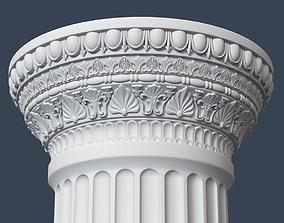 Roman Column 009 3D model