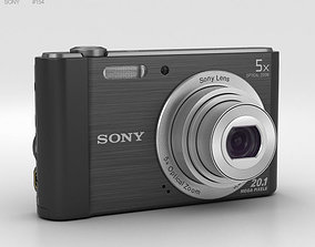 Sony Cyber-shot DSC-W800 Black 3D