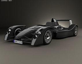 3D model Caparo T1 2007