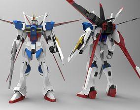 3D model Force Impulse Gundam