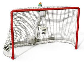 3D Ice Hockey Goal
