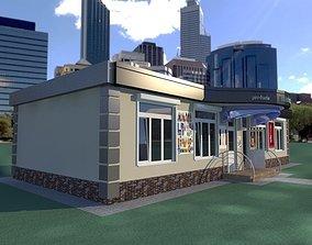 VR / AR ready 3d model SuperMarket Shop
