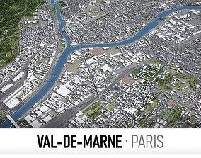 3D model Val-de-Marne - Grand Paris