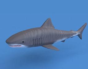 Shark 3d model VR / AR ready whale