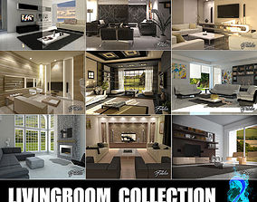 3D model Livingrooms Collection 2