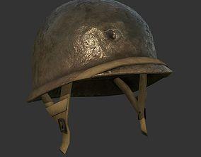 Helmet Military WW2 Soldier Army 3D model