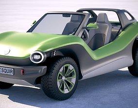 Volkswagen ID Buggy 2020 3D