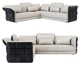 3D model wite Cierre Eva Due Corner Sofa