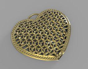 heart pendant for 3d printer