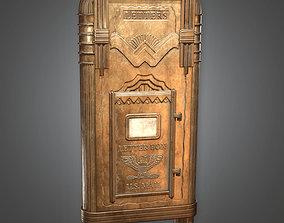 3D asset DKO - Letterbox Art Deco - PBR Game Ready