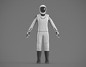 SpaceX spacesuit martian suit astronaut 3D model