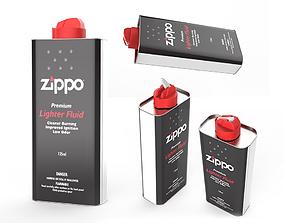 Zippo Lighter Fluid - 125ml 3D