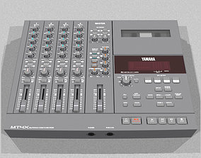 Four Track Cassette Recorder - Yamaha MT4X 3D model