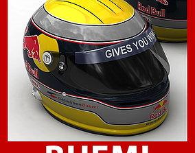 Helmet F1 2009 Sebastien Buemi 3D model