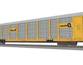 3D model Train Car - Car Carrier - Conrail Autorack