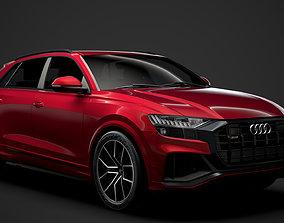 Audi SQ8 TFSI 2020 3D model