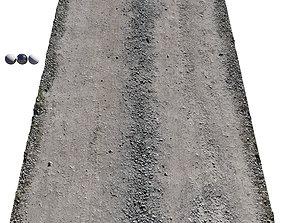 Ultra realistic Sandy Road Scan texture 3D model