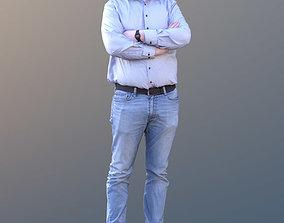 3D asset Fabian 10588 - Standing Casual Guy