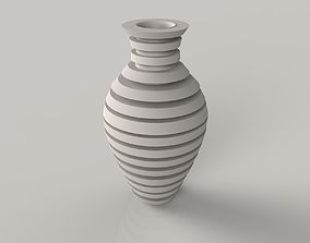 Long Flower Vase 3D printable model