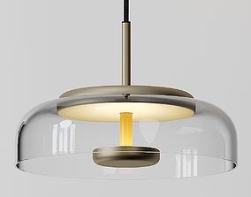 Nordic Style Light Dome Pendant 3D model