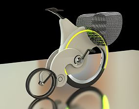 3D model Penny Farthing Bicycle