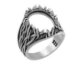 MAN RING 016 3D printable model