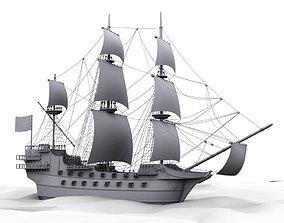 Spanish Galleon 3D model
