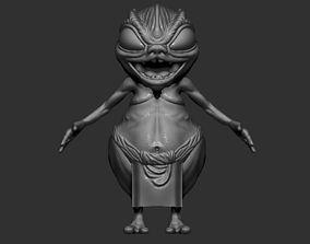 High-poly Goblin 3D