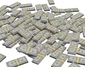 game-ready Dollars 3d model